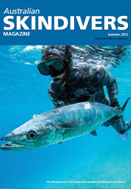 Australian Skindivers Magazine - Summer 2012