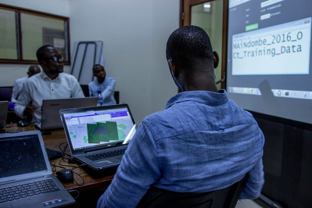 Remote Sensing training in Kinshasa, DRC