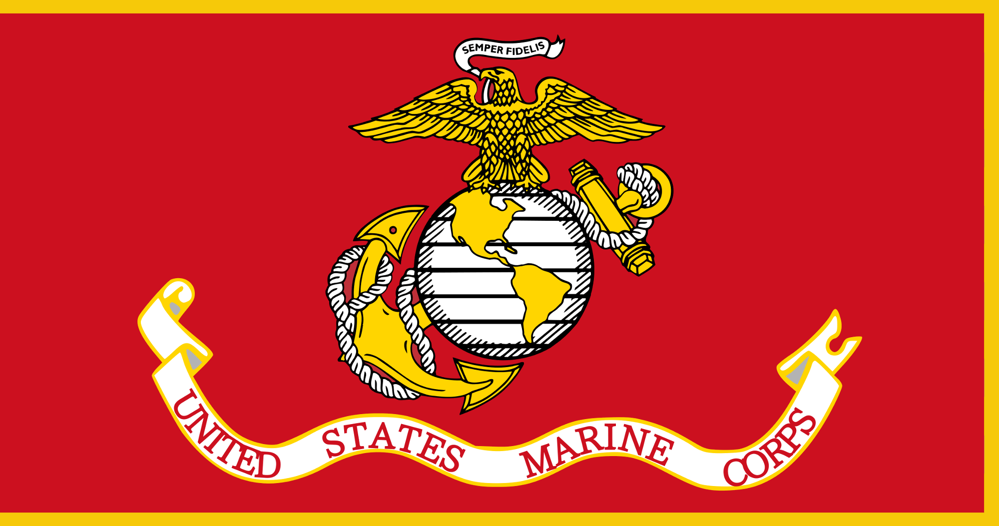 USMC_-_Flag_of_the_USMC_with_Fringe