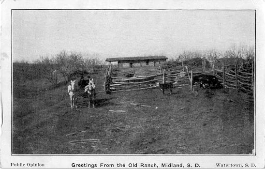 Penny Postcards From Haakon County South Dakota