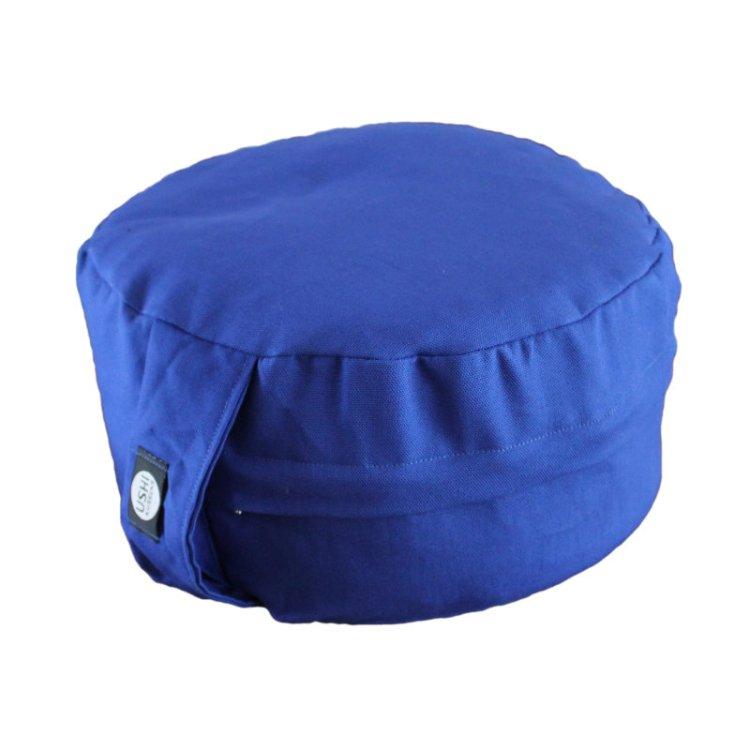 Meditatiekussen afneembare hoes met rits, kobaltblauw