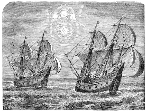 Ferdinand Magellan: parasélène Vu à la mer