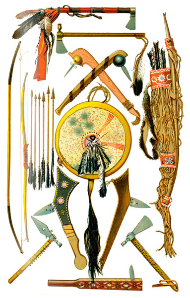 Native Americans Iroquois Indians Weapons