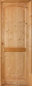 дверь межкомнатная деревянная из массива сосны