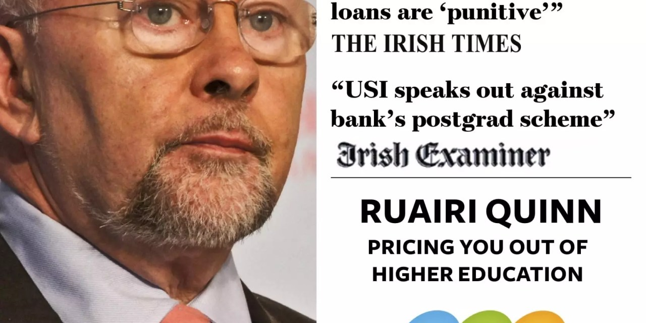 USI voices grave concerns on national rollout of Bank of Ireland student loan scheme