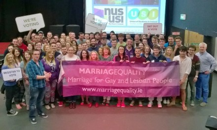 Youth vote critical to equal marriage referendum, say Student Leaders