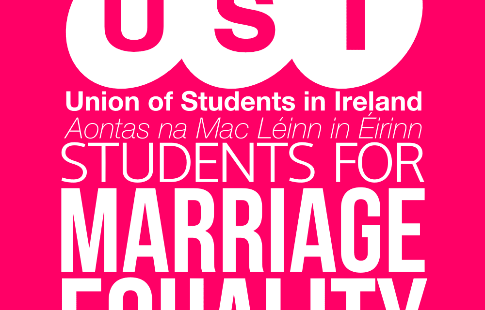 Preparing for Marriage Equality Referendum, Cork – USI President's speech