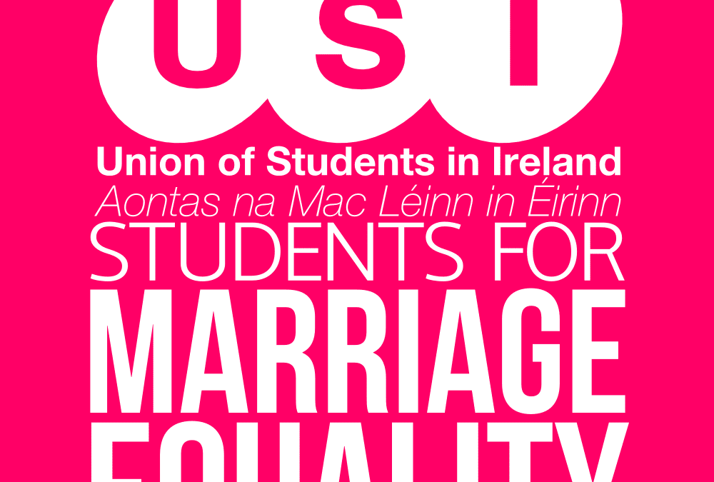 Preparing for Marriage Equality Referendum, Cork – USI President's speech