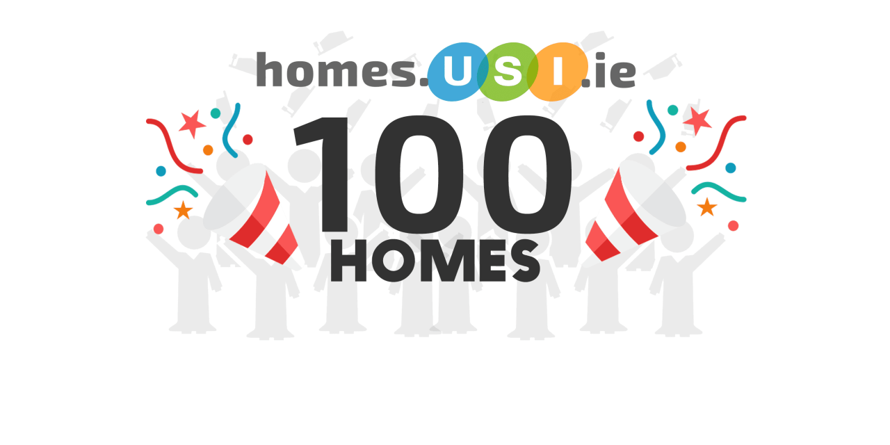 homes.usi.ie Celebrates!