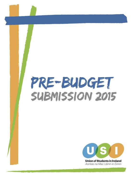 USI Pre-Budget Submission 2015 (TD) (dragged)
