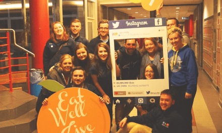 USI's Eat Well, Live Well Campaign Launch!
