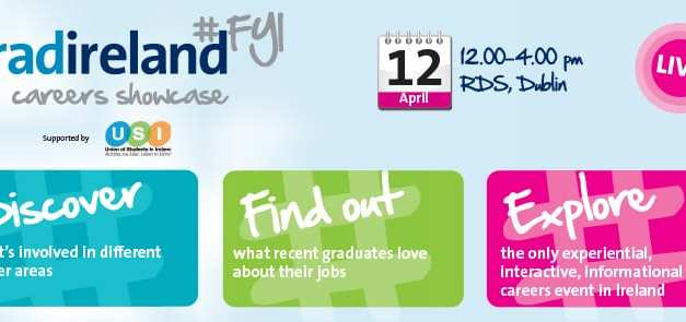 USI Partners With gradireland #FYI Event