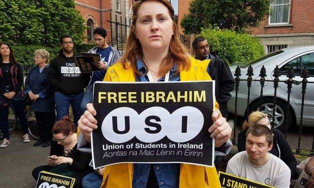 USI Stands With Ibrahim Halawa