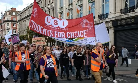 Students Rally To Demand May Vote To #RepealThe8th