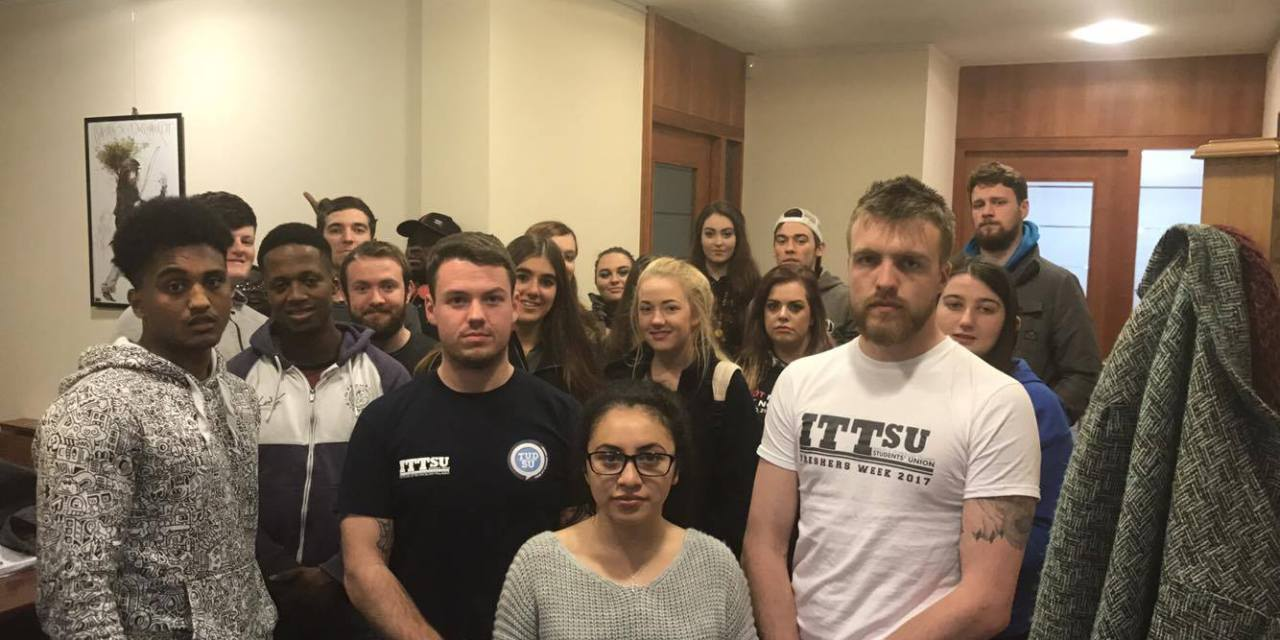 USI Support IT Tallaght SU Sit-In
