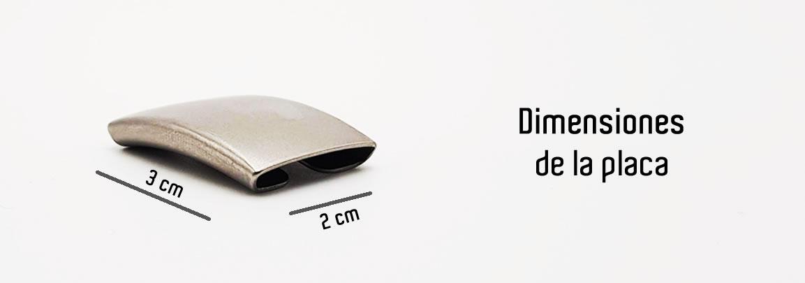 Dimensiones de la Placa