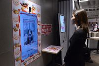 Di China, Pesan Ayam di KFC Pakai Sensor Muka