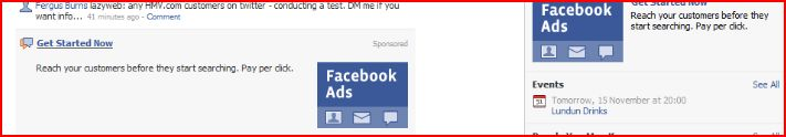 Facebook ad for facebook ads on Facebook
