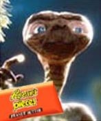 Now that's what I call marketing - ET sells Reese's Pieces