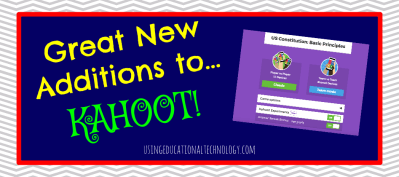 Kahoot Additions - May