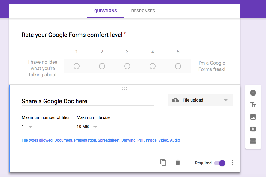 New Google Forms Features - Teaching with Technology