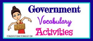 government-vocabulary-activities