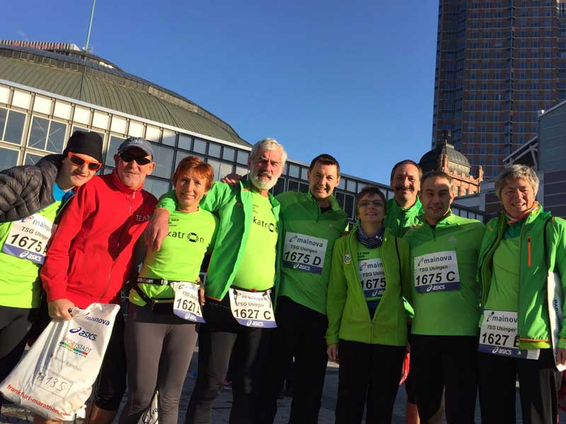 35. Frankfurt Marathon am 30. Oktober 2016