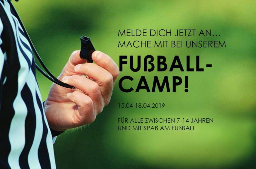 Fußball-Camp 2019 in den Osterferien