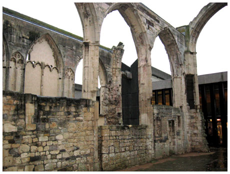 Remains of Greyfriar's Abbey