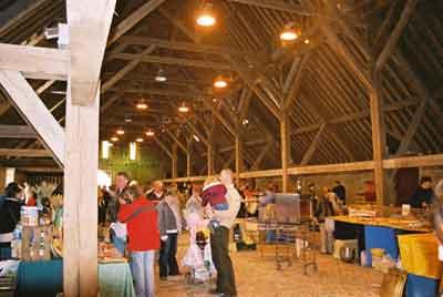 St-Pierre-sur-Dives market hall