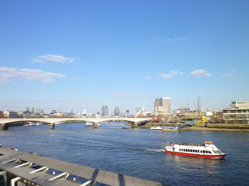 A lovely London day - spring at last