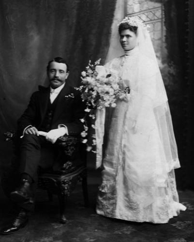Clara & George get married