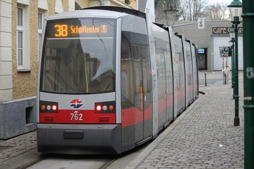 Our tram awaits...