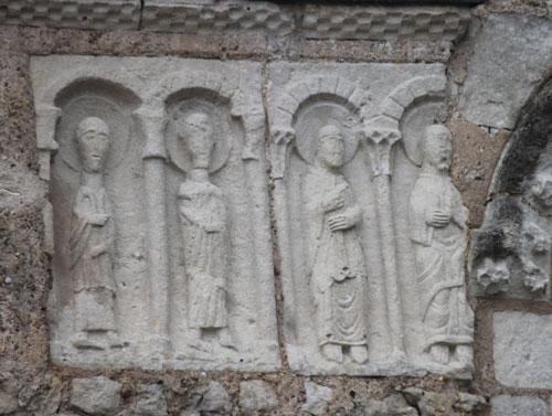 Carolingian portion of the façade of St. Symphorien