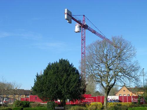 Big crane in Farnham