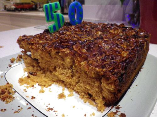 Mirinda's marmalade cake