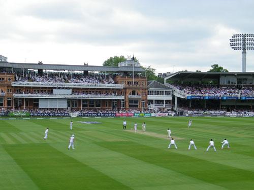 England set an attacking field