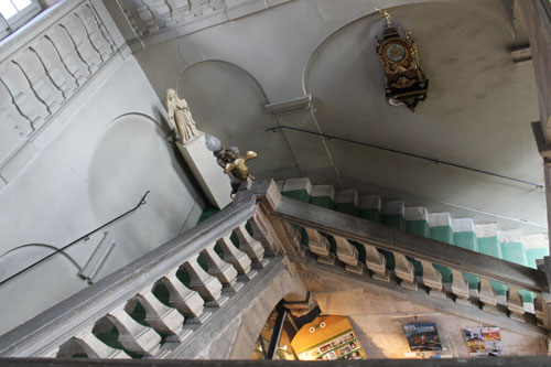 Staircase at Musee Magnin