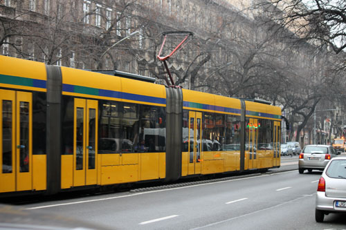 Either a tram #4 or #6