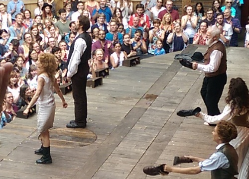 Kate and Petruchio take their bows
