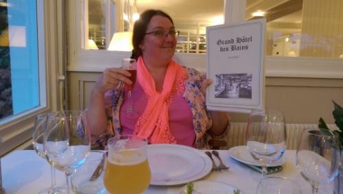 Flouro scarf girl