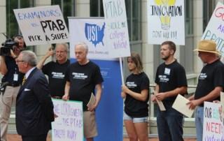 Inventors Protesting