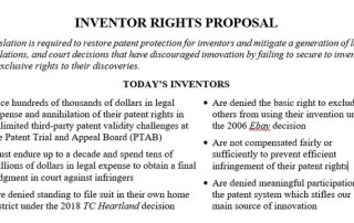 Inventor Rights Act