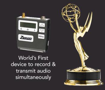 Emmy - Zaxcom TRX900 - Glenn Sanders