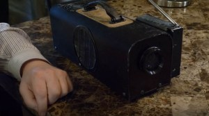 First LCD Projector by Gene Dolgoff