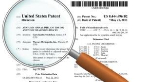 Gary Michelson - US Patent
