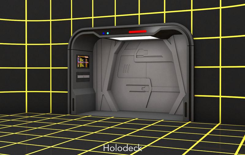 Holodeck - Gene Dolgoff
