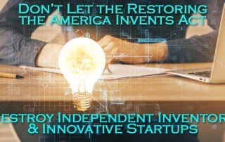 Restoring the America Invents Act - Naivety or Corruption