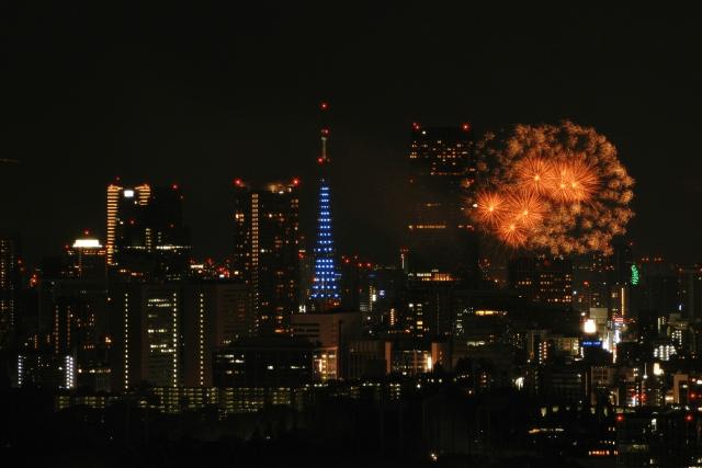東京の花火大会2019有名所から穴場までデートに向いている所を紹介!