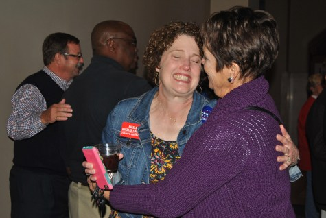 Republican watch party celebrates victory